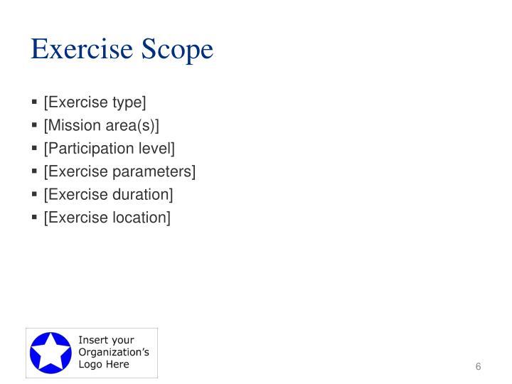 Exercise Scope