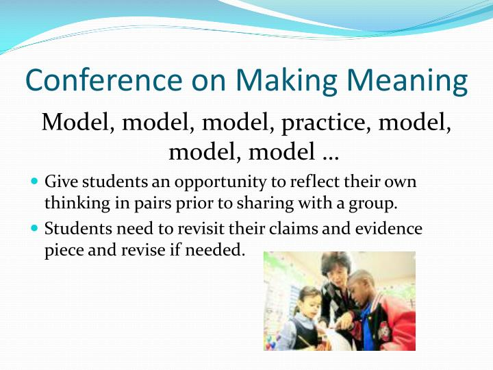 Conference on Making Meaning