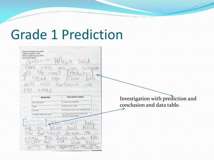 Grade 1 Prediction