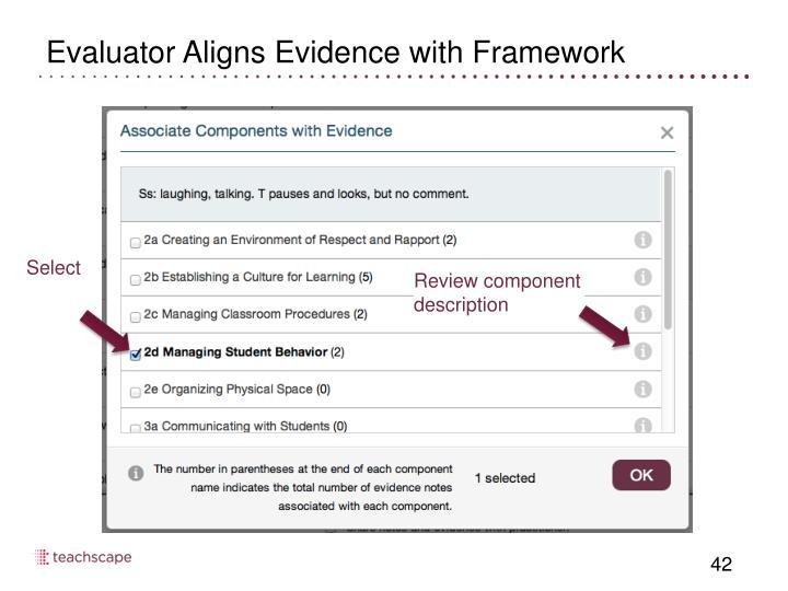 Evaluator Aligns