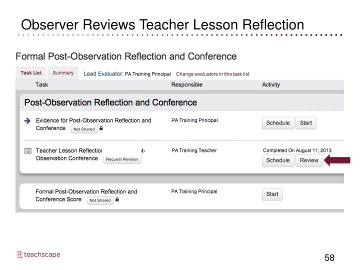 Observer Reviews