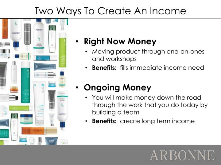 Two Ways To Create An Income
