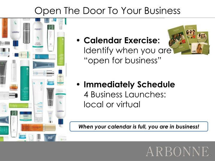 Open The Door To Your Business
