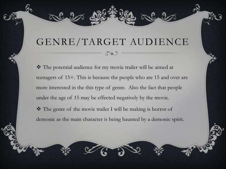 Genre/target audience