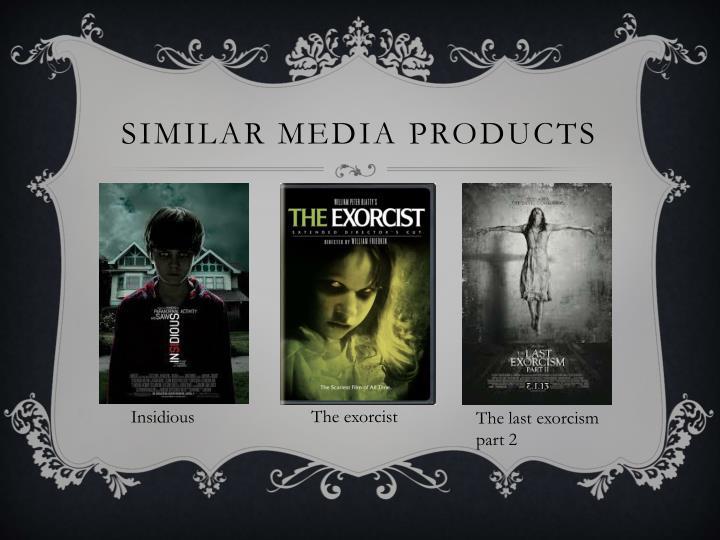 Similar media products