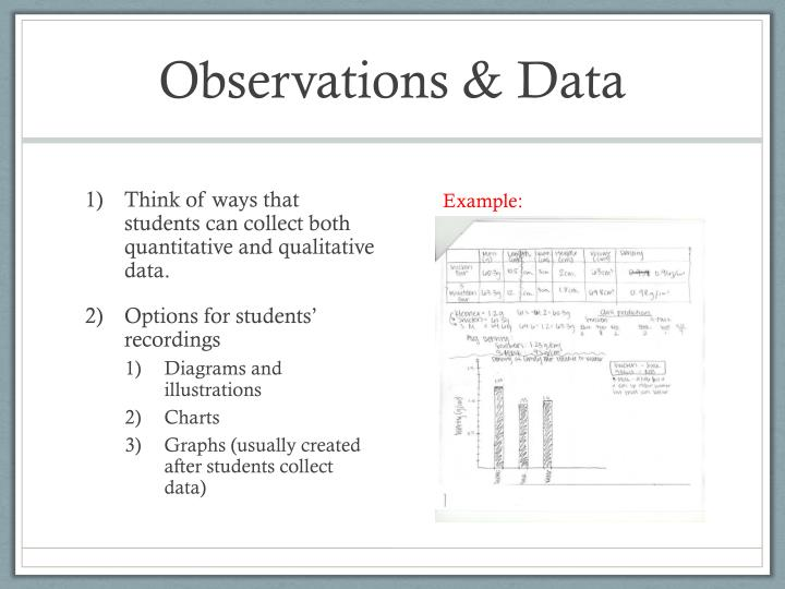 Observations & Data