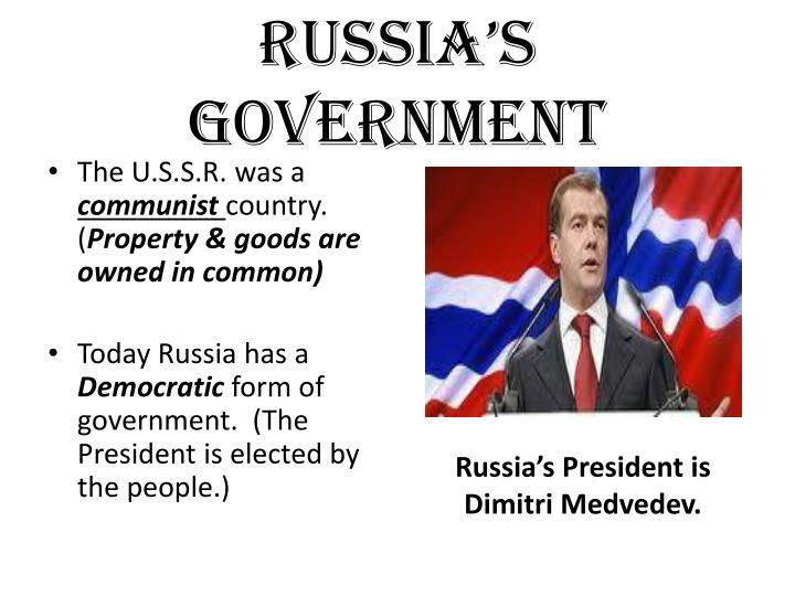 Russia's Government