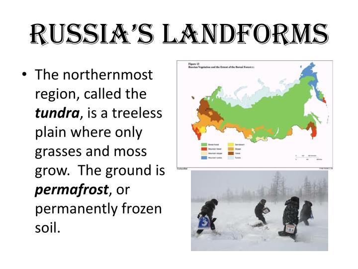 Russia's Landforms