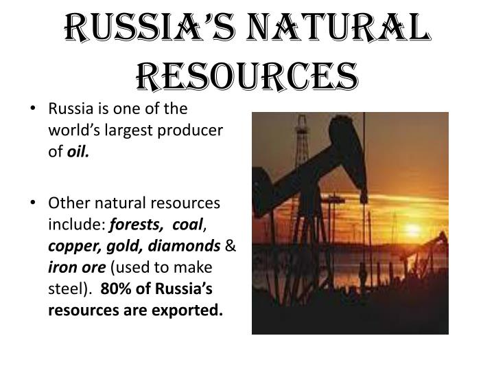 Russia's Natural Resources