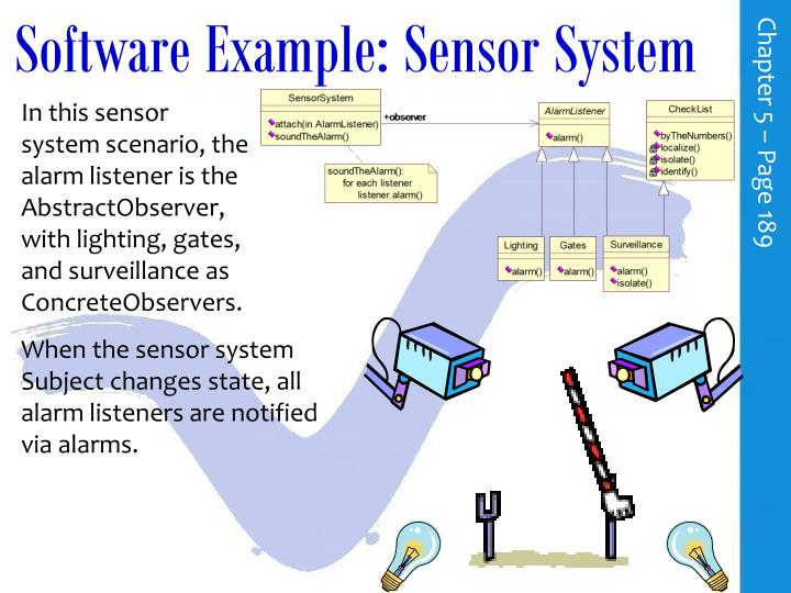 Software Example: Sensor System
