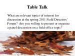 table talk3