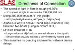 directness of connection