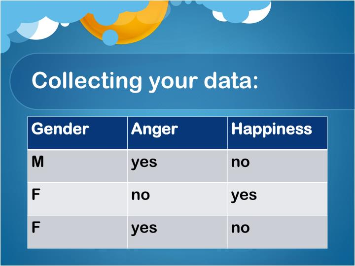 Collecting your data: