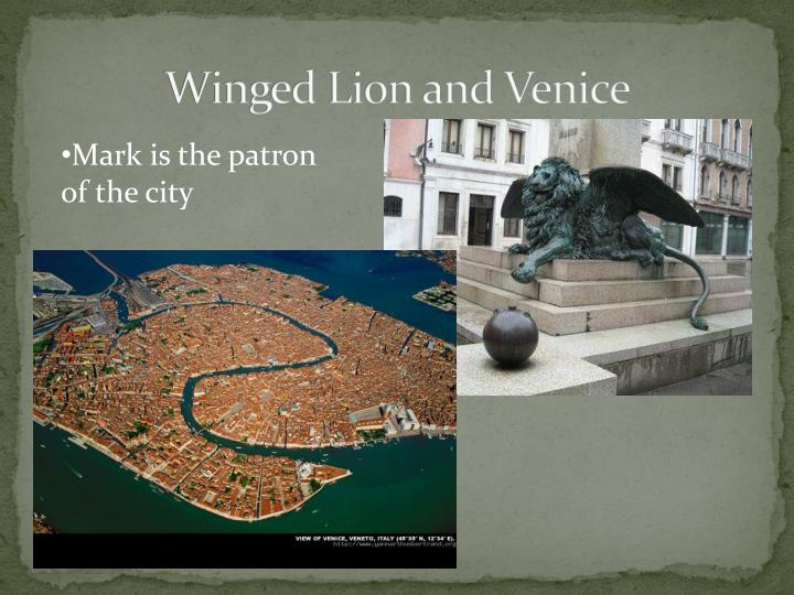 Winged Lion and Venice