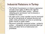 industrial relations in turkey