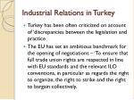 industrial relations in turkey1