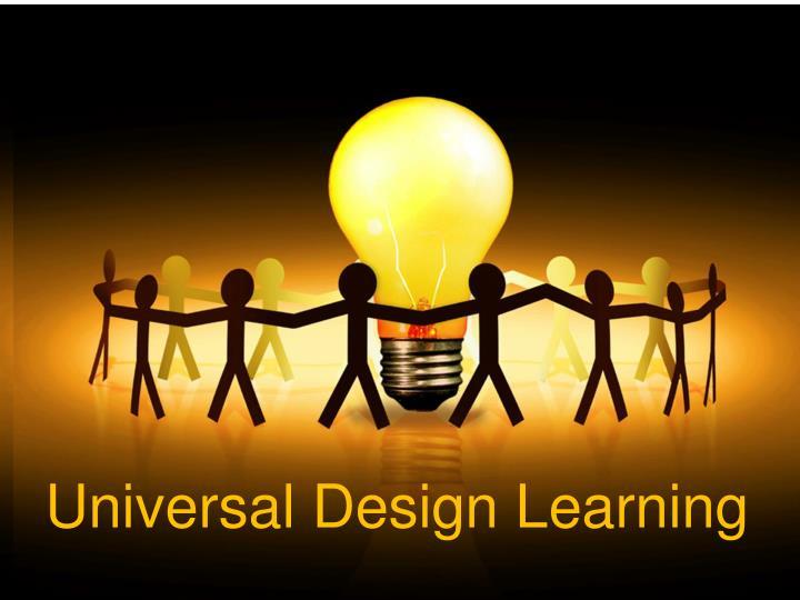Universal Design Learning