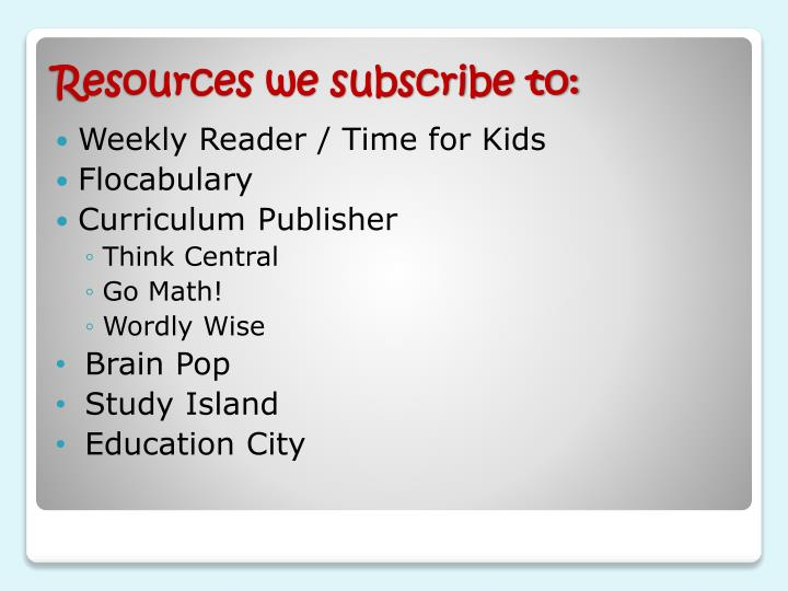 Weekly Reader / Time for Kids