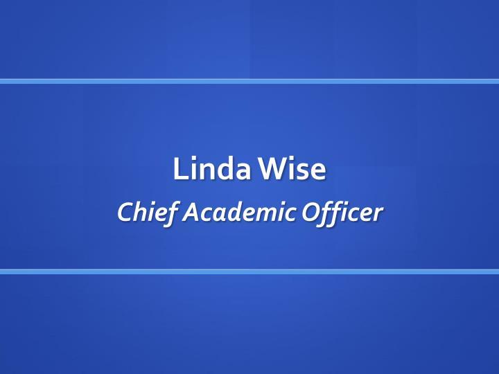 Linda Wise