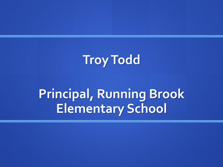 Troy Todd