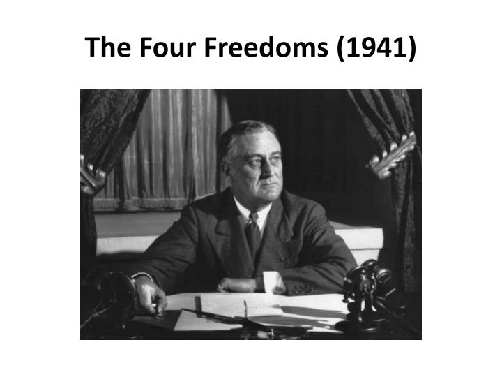 The four freedoms 1941