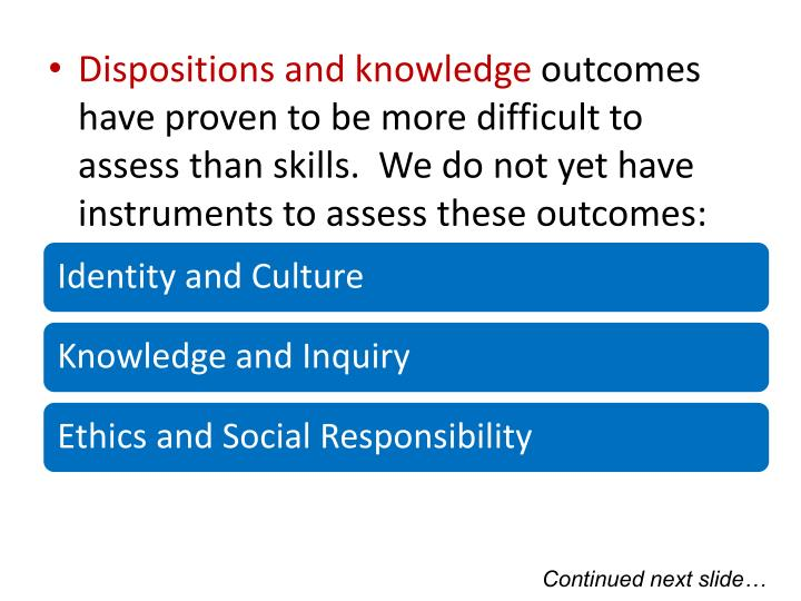 Dispositions and knowledge