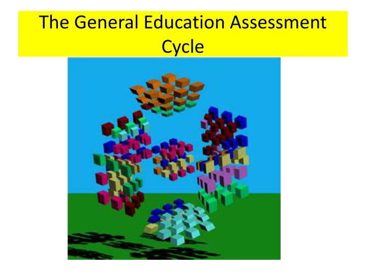 The General Education Assessment Cycle