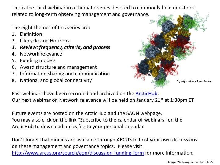 This is the third webinar in a thematic series devoted to commonly held questions