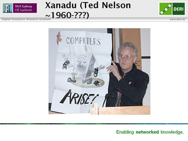 Xanadu (Ted Nelson ~1960-???)