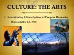culture the arts