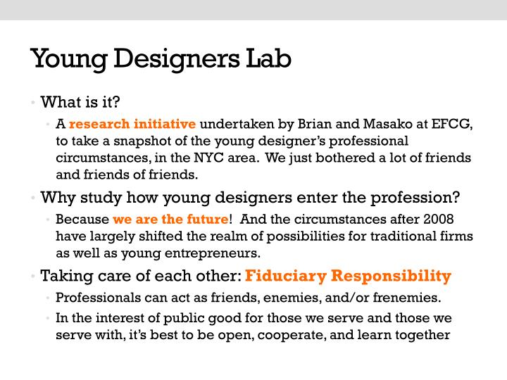 Young Designers