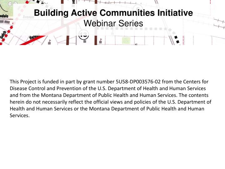 Building Active Communities Initiative