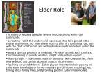 elder role