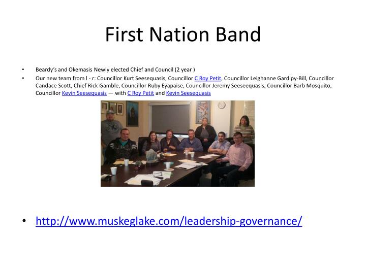 First Nation Band
