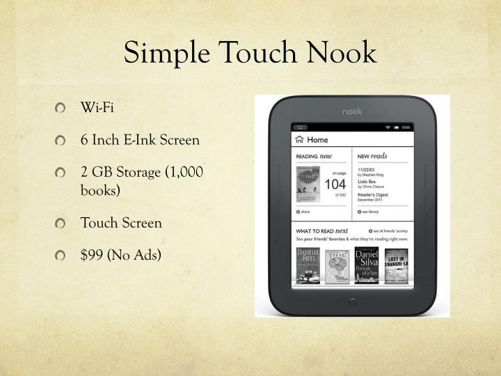 Simple Touch Nook