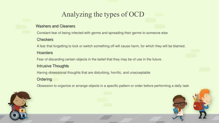 Analyzing the types of OCD