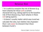relative risk2