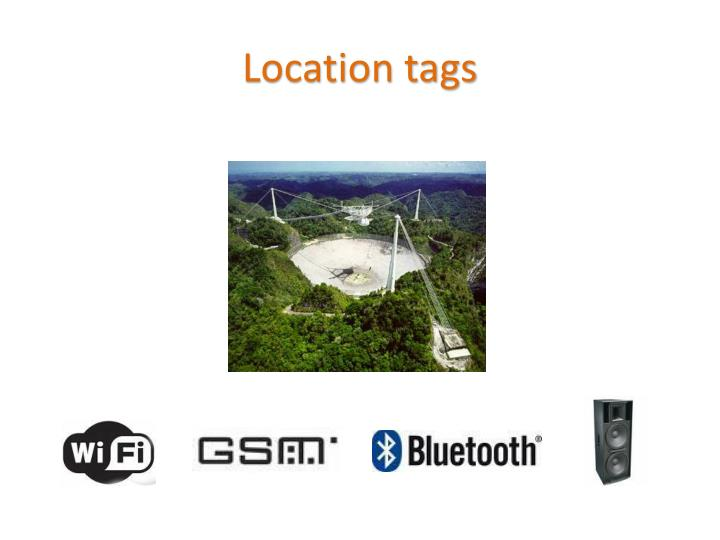 Location tags