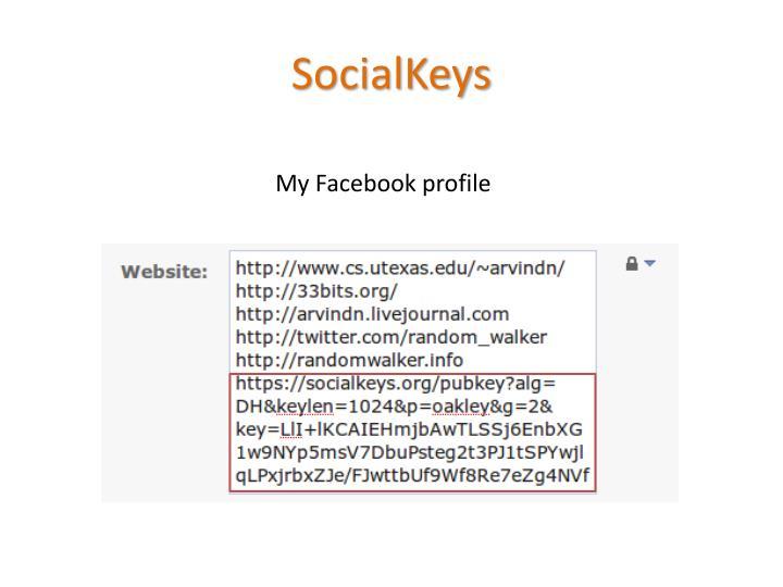 SocialKeys
