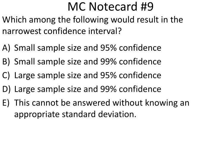 MC Notecard #9