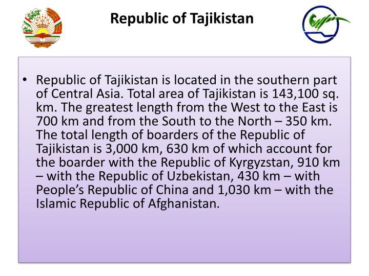 Republic of Tajikistan