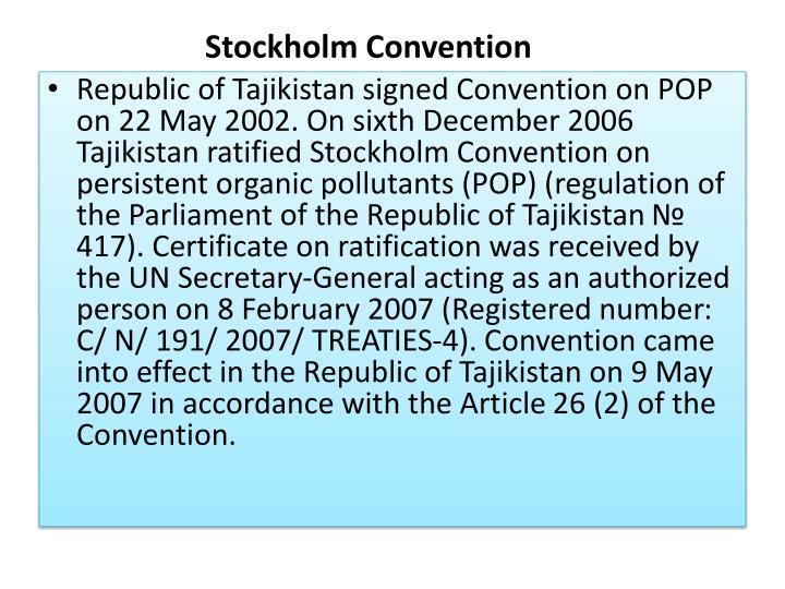 Stockholm Convention