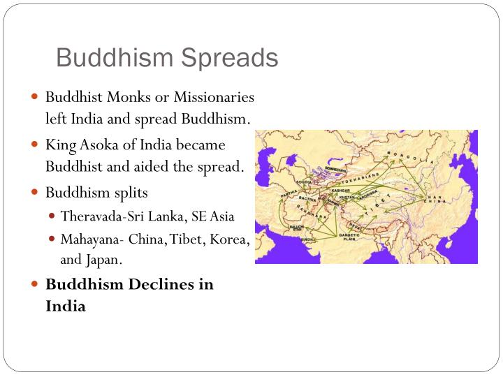 Buddhism Spreads