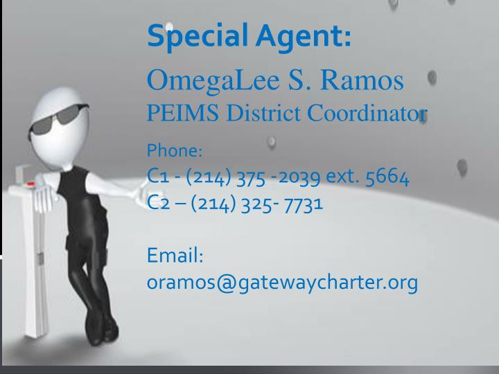 Special Agent: