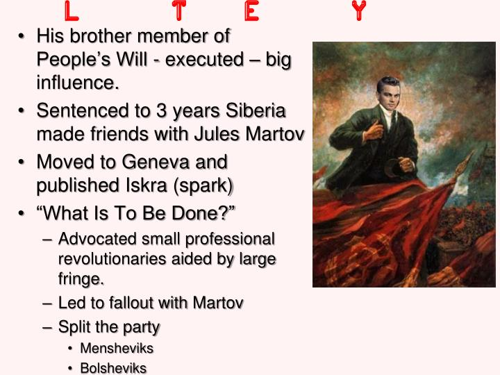 Lenin The Early Years