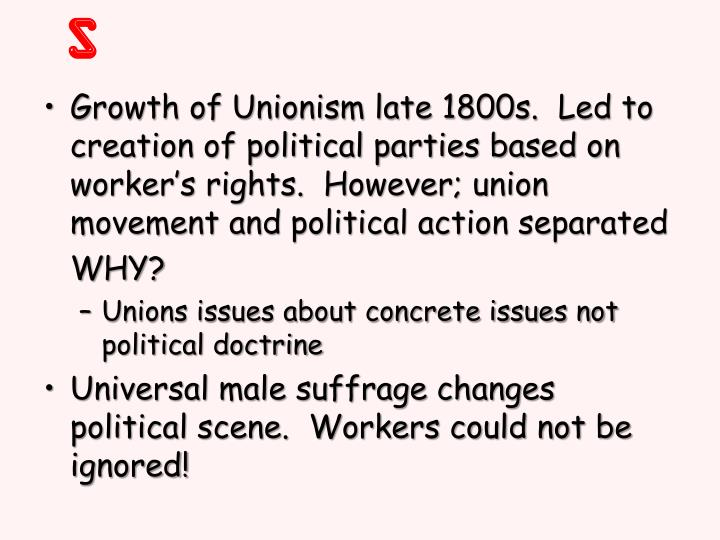 Socialism spreads