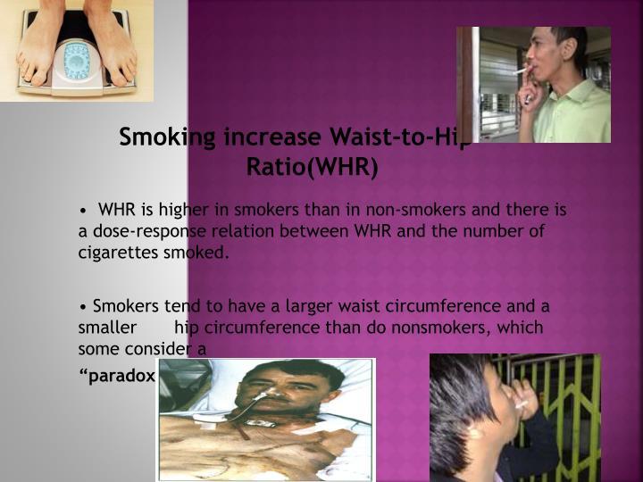 Smoking increase