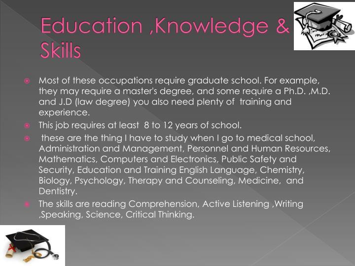 Education ,Knowledge &