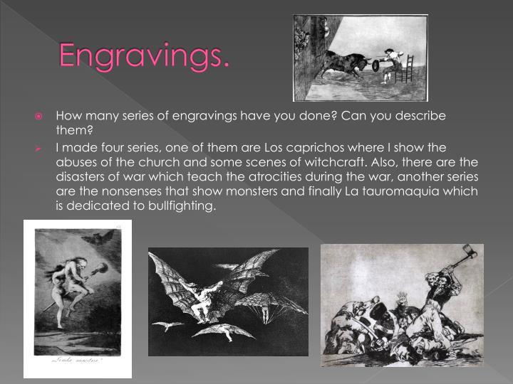 Engravings.