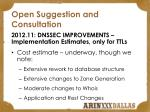 open suggestion and consultation1